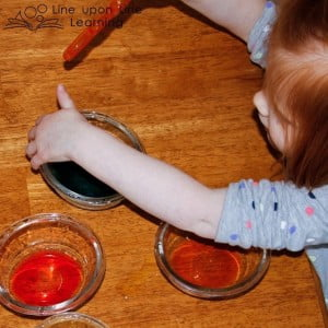 Color Mixing Fine Motor Activity