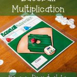 Baseball Multiplication Game with Ten-Sided Dice