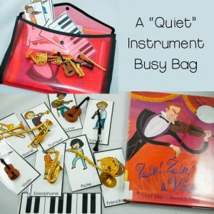 Instruments Busy Bag