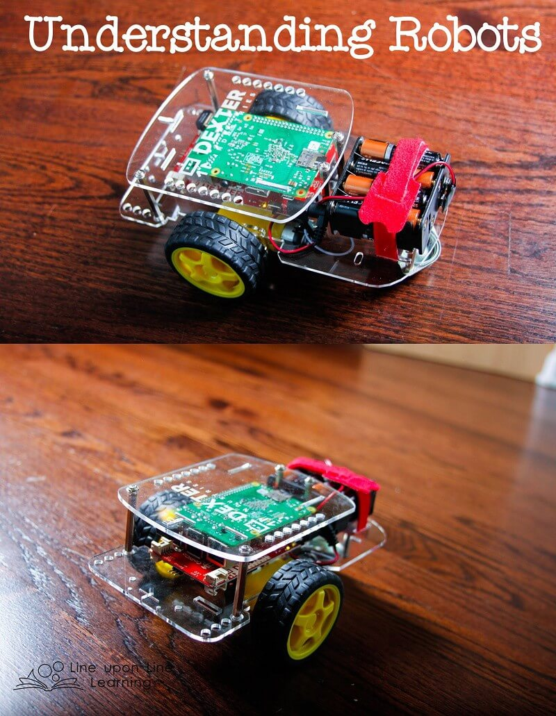 Understanding what a robot can or cannot do is best when you have an actual robot to program! Our GoPiGo is so much fun.