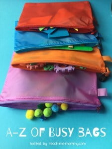 The A-Z pf Busy Bags blog hop