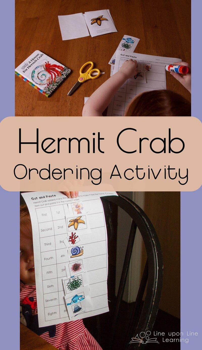 our favorite hermit crab preschool imagination game. Black Bedroom Furniture Sets. Home Design Ideas