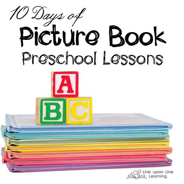 10 Days of Picture Book Preschool Lessons