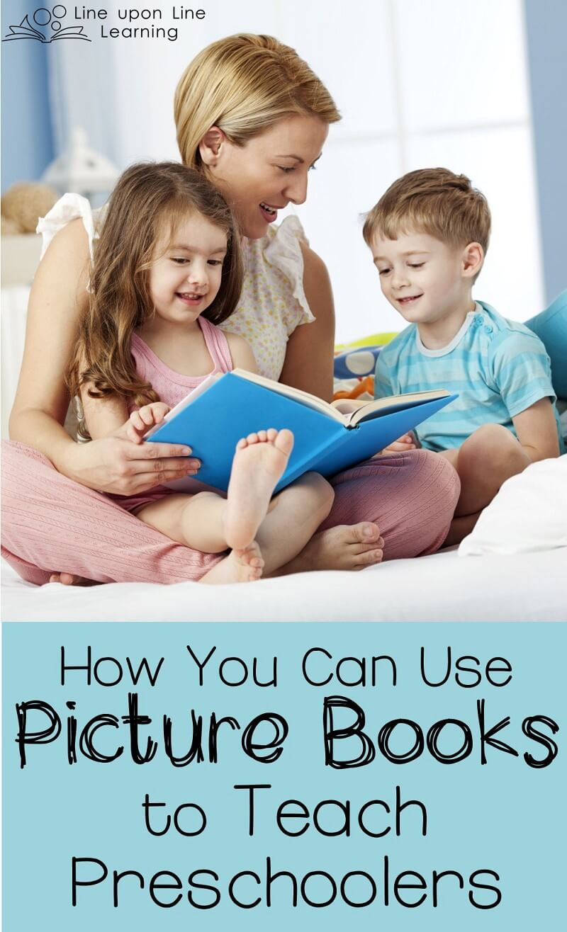 Reading is about finding connections in a text to our world, ourselves, and other books. Use picture books to teach preschoolers and help them begin making those connections