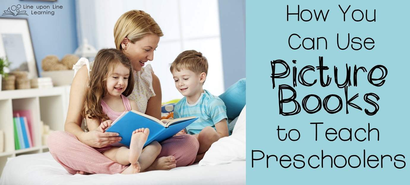 Use picture books to develop science, social studies, language, and math lessons and to make preschool more engaging.