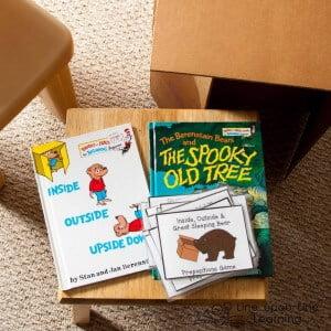 Playing Preschool: Gross Motor Skills Preschool Prepositions Game