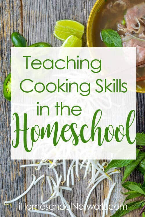Cooking Skills in Homeschool at iHN