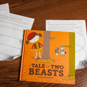 Learn to Compare and Contrast using A Tale of Two Beasts