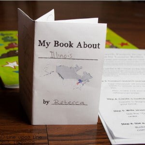 Write a Mini-Book: Easy Guided Research Project about a State