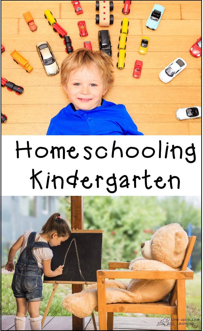 Keep your kindergarten year of homeschool delight-directed! My ideas may help you surviving your child's first year.