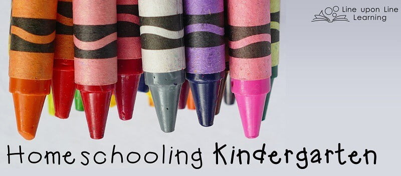 Homeschooling kindergarten can be fun. It's the perfect age to foster a love of learning.