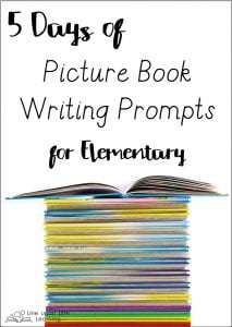 Picture books are not just for little kids. Big kids may be inspired by the language, stories, and characters in picture books. Check out these writing prompts for ideas on using picture books with older elementary-aged kids.