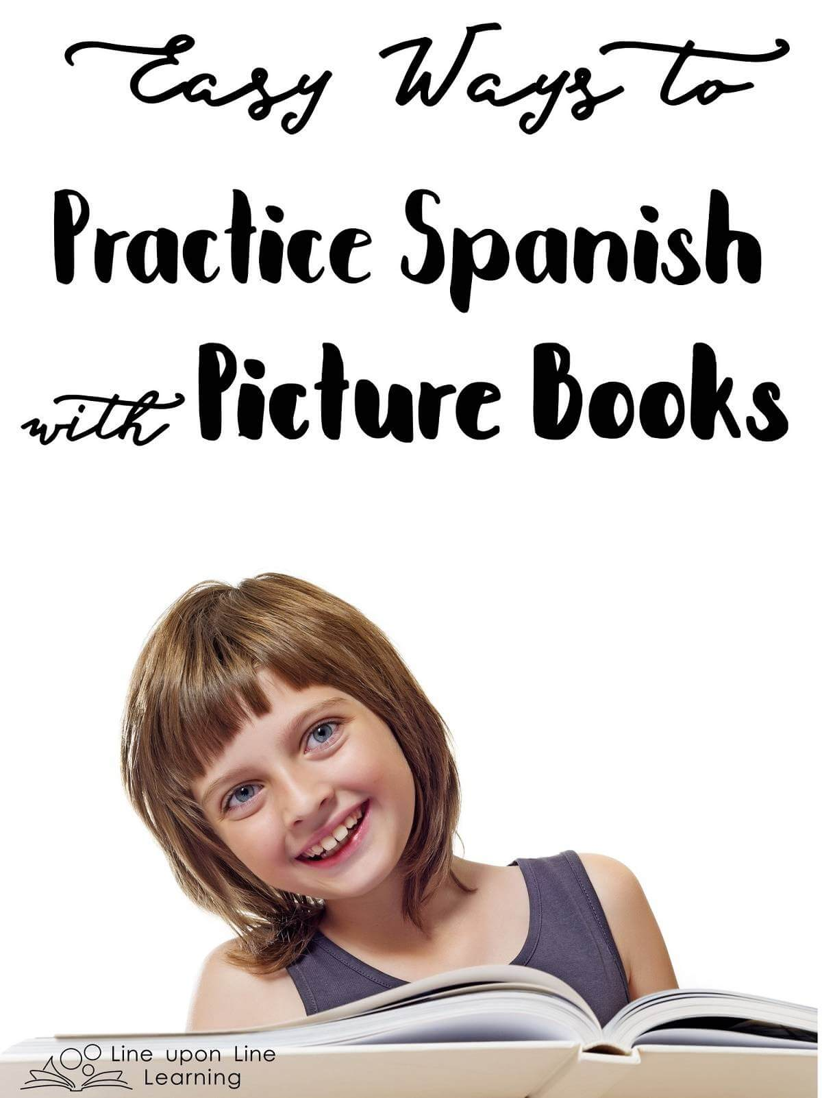 Reading Spanish picture books together gives us a chance to practice and learn new vocabulary and recognize grammatical structures of Spanish.