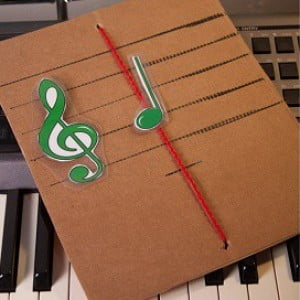 Super Easy DIY Staff to Practice Reading Notes