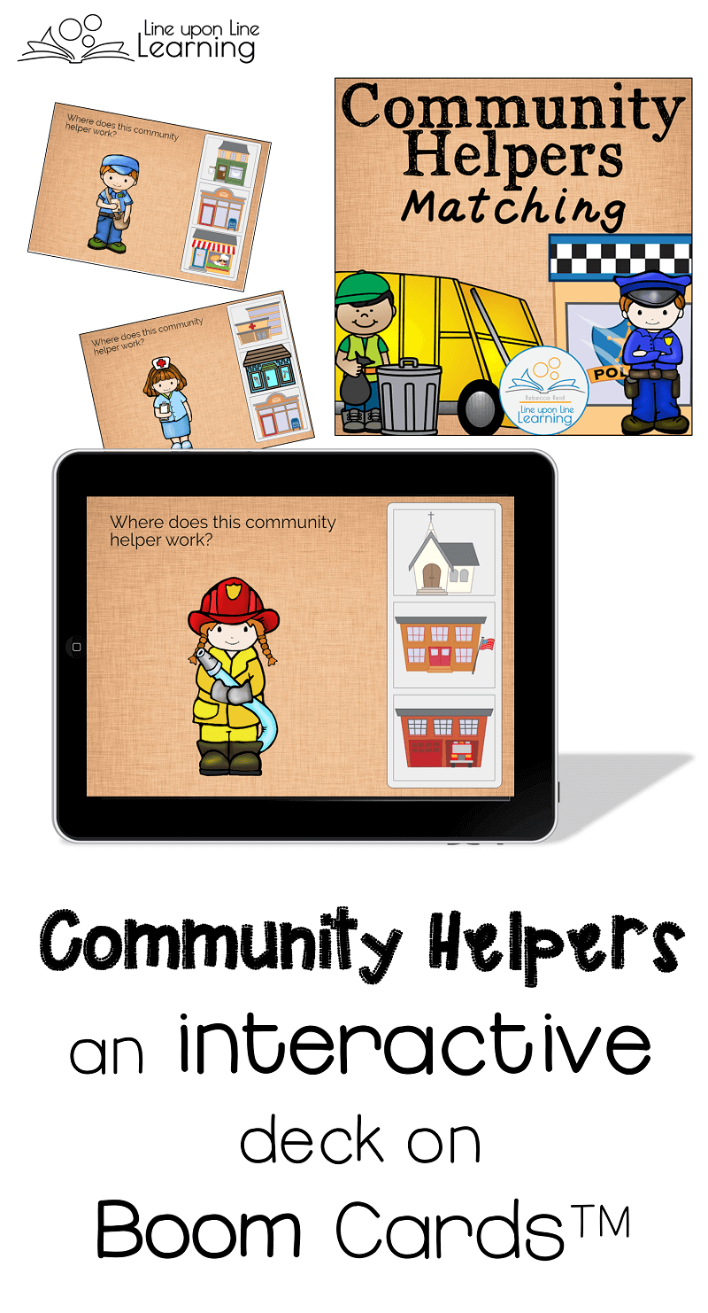 hands on and interactive community helpers activities