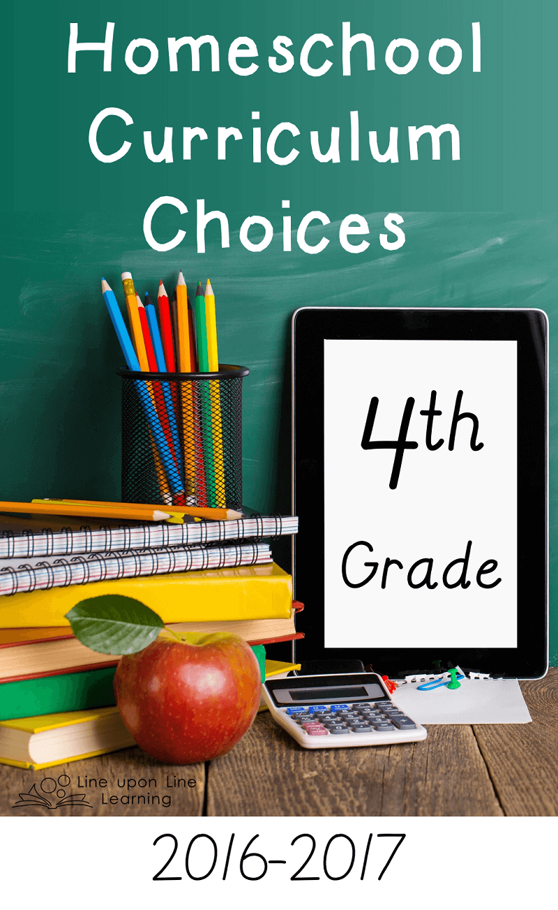 Fourth grade is a year of greater self-direction for my son in his homeschool work and our curriculum choices.