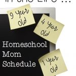 A Homeschool Mom Schedule is Not for Wimps