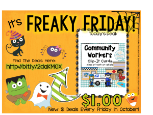 Get this product for $1 only on September 30 for Freaky Friday!