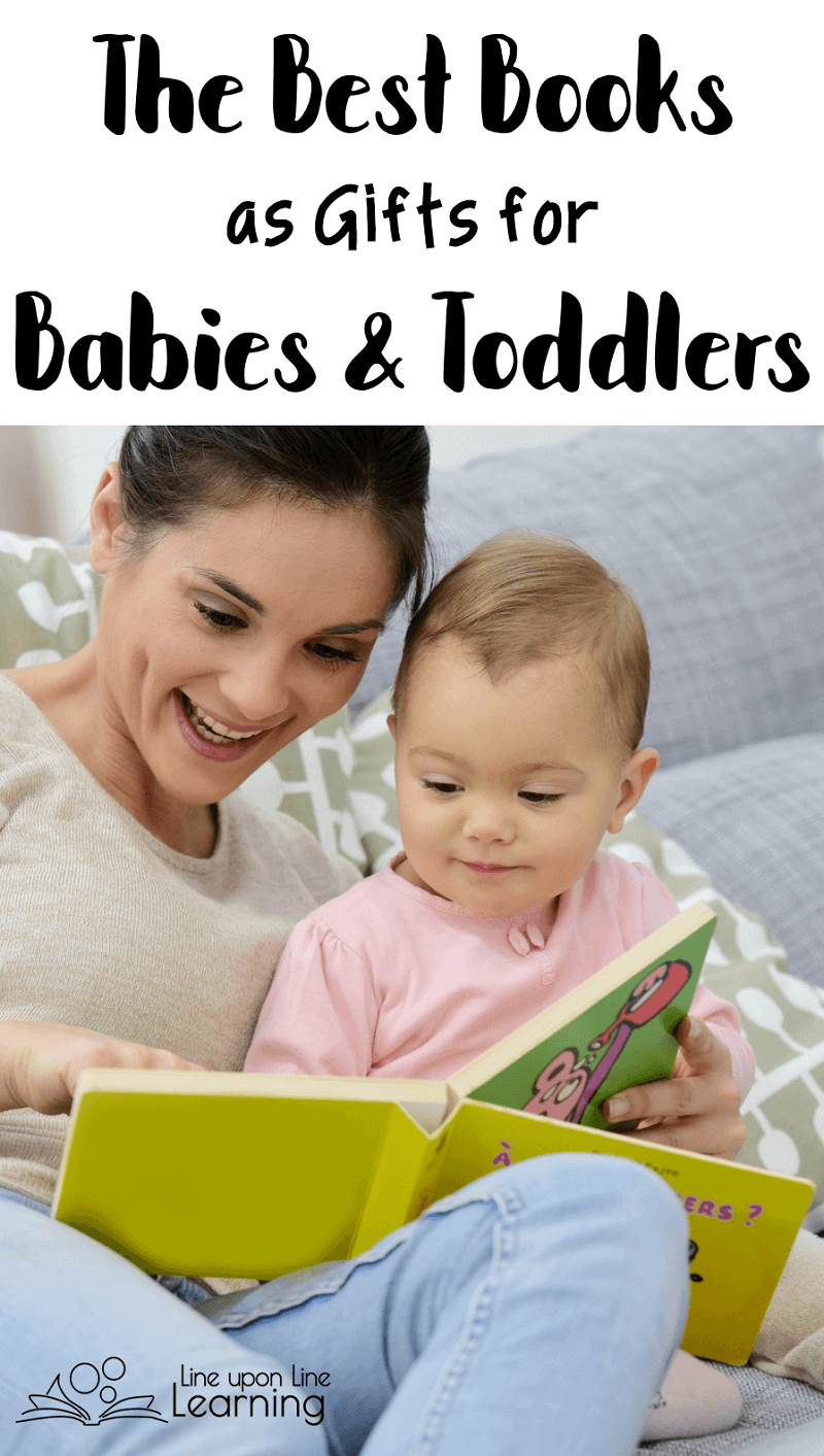 Books are the best gifts for babies and toddlers. being surrounded by books has provided her with a nice foundation in literacy.
