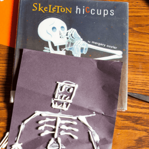 Cotton-Tip Swab Skeletons to Learn about Skeletal System