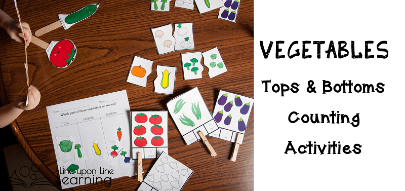 Learning about vegetables can be fun.