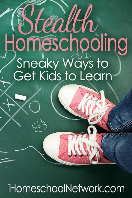 Get more ideas on how to sneaky in learning moments.