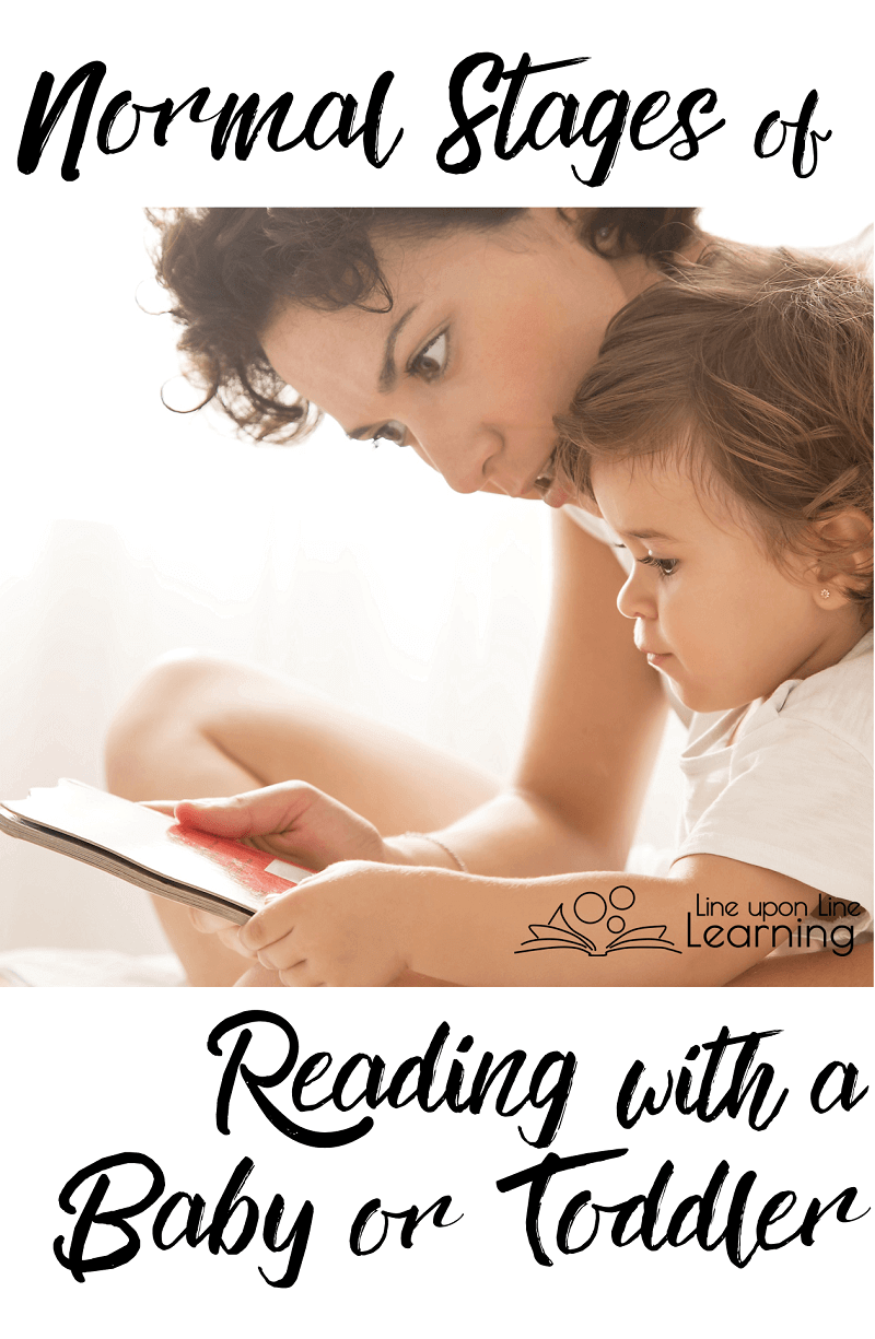 Babies are never too young for you to start reading to them. Read to your baby even if it puts her to sleep! Eventually she'll want to eat it, then read it, and finally love it!