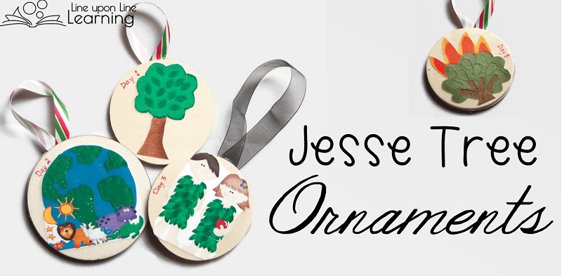 image regarding Jesse Tree Symbols Printable referred to as LDS Jesse Tree Xmas Introduction Ornaments