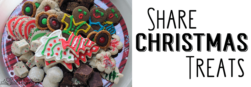 Kids love to share Christmas treats because they know how much they themselves love them!