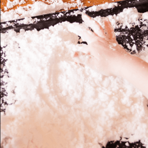 Writing in the Snow Picture Book Lesson