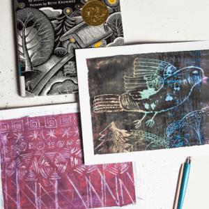 Picture Book-Inspired Scratch Board Art Project