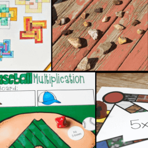 Hands-on Multiplication Review Activities and Games