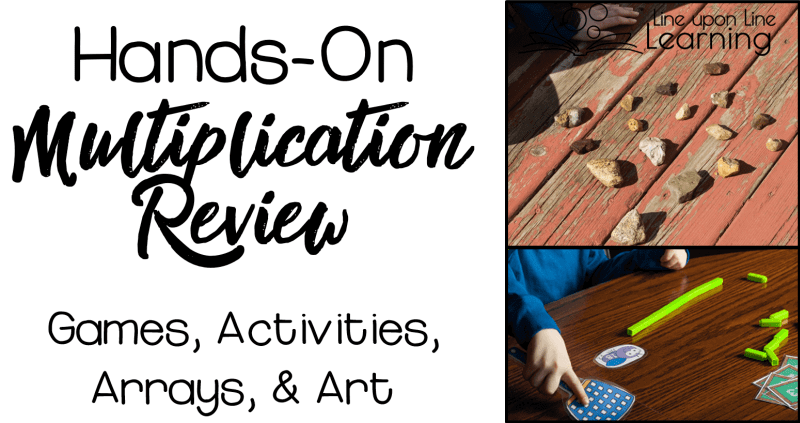 Hands-on multiplication review activities and games will help kids love math instead of dread it.