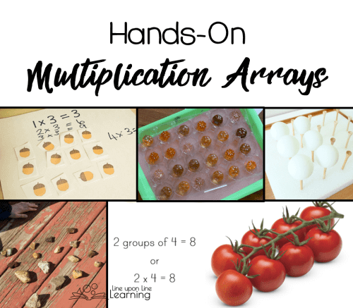 Get a stronger understanding of arrays with these hands-on multiplication review array activities