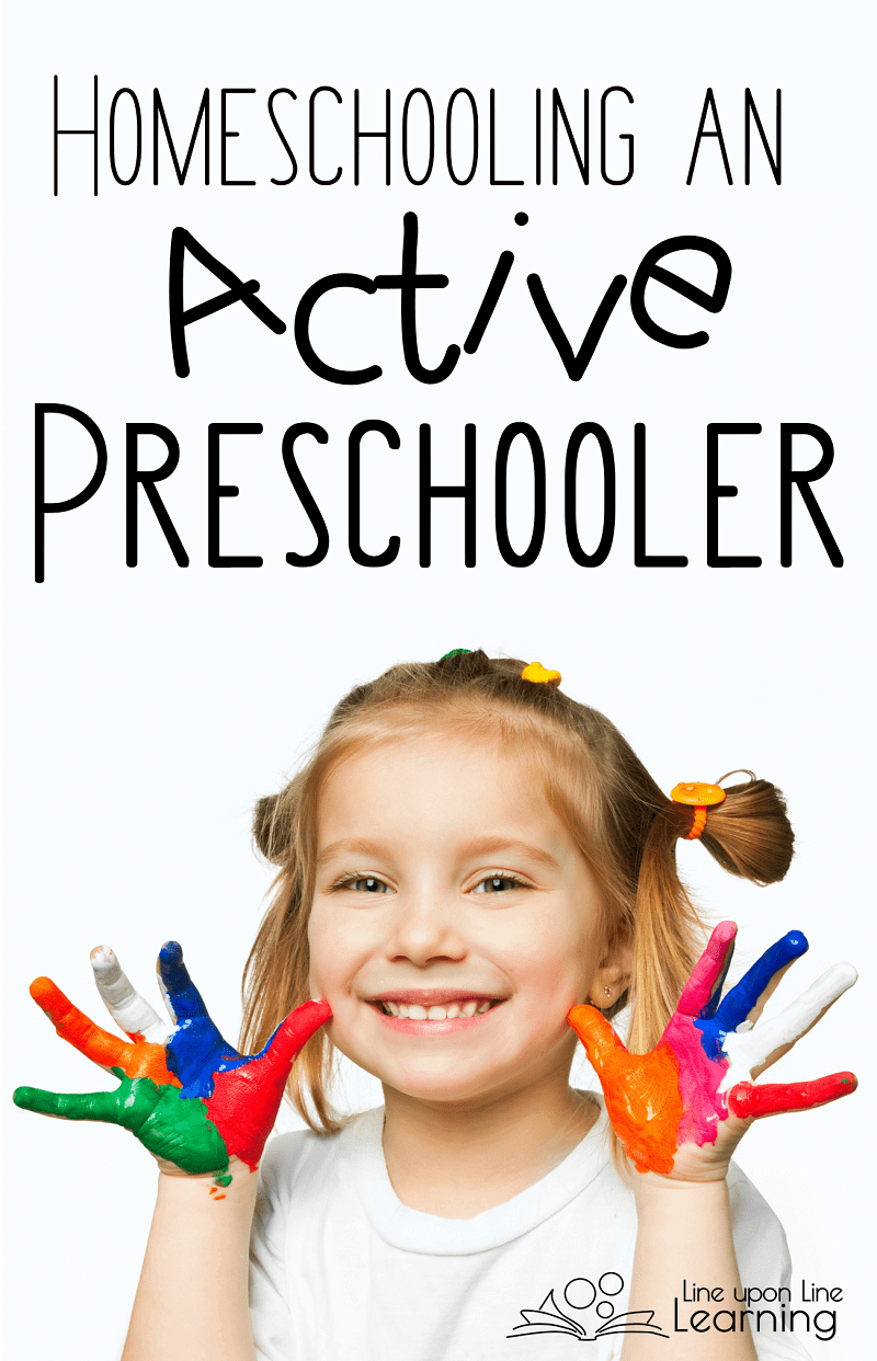 Homeschooling an active preschooler is all about encouraging a love of learning. Through the schedule out the window and get messy!