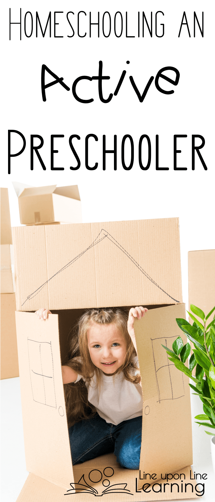 As you homeschool an active preschooler, let the child explore, imagine, and create. This is what preschool should be about, and homeschooling preschool is the perfect way to nurture creativity!