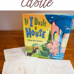 We contintued our Princess Preschool STEAM activities by design a castle, after being inspired by a princess show and Chris Van Dusen's book, If I Built a House.