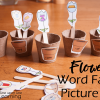 Put the image-flowers into the correct flower pot with this word family picture sort perfect for spring!