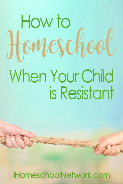 Ideas to Homeschool a Resistant Child