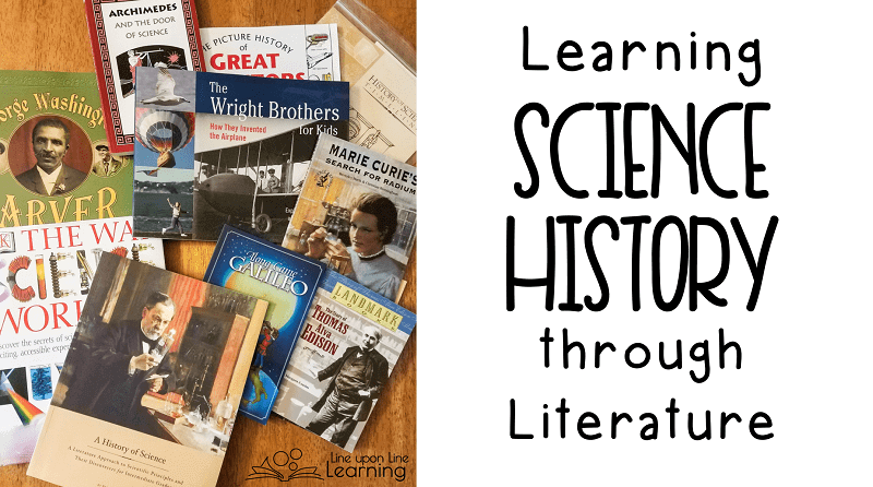 So many great living books in the History of Science Beautiful Feet Books curriculum!