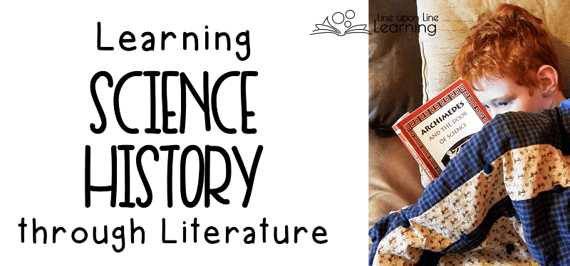 He may be a Big Kid now, but that doesn't mean we can't cuddle on the couch and read our science history stories together! A literature-rich curriculum is nice for family time.
