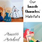 Our mini-lesson on our favorite characters habitats was made all the more interesting when Ariel's habitat collided with Nemo and Dory's habitat!