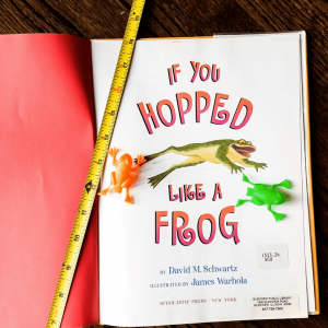 Frog Hopping Measurement Activity