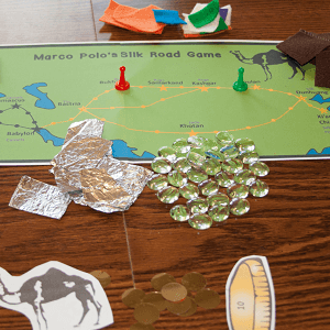 Hands-on Marco Polo Silk Road Game