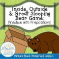 Preposition Game for Preschool Kids (Picture Book Lessons)
