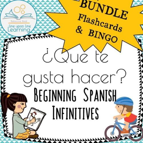 spanish infinitives BUNDLE