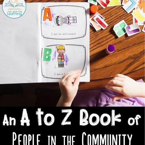 A to Z Book of People in the Community