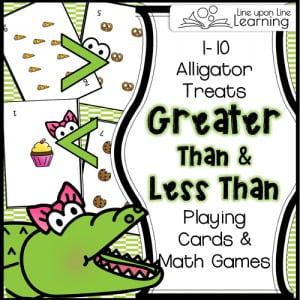 Alligator Treats Playing Cards