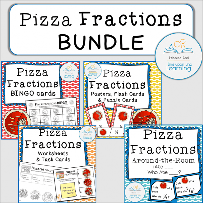 BUNDLE Pizza Fractions COVER