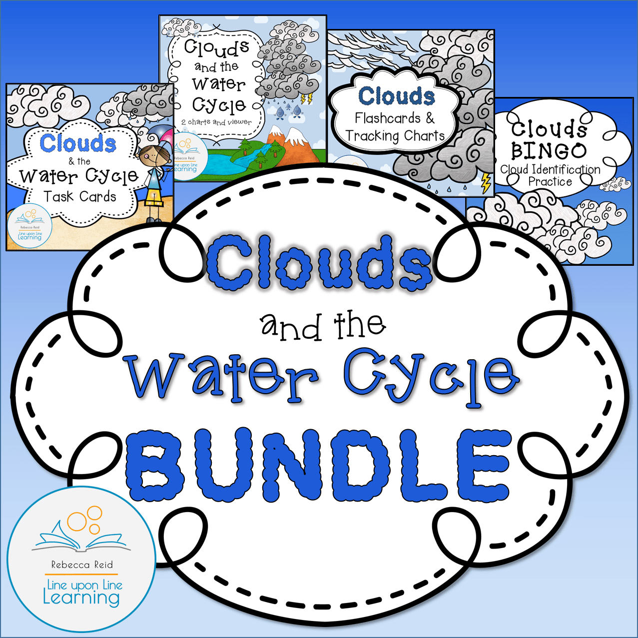 Clouds and the Water Cycle BUNDLE COVER